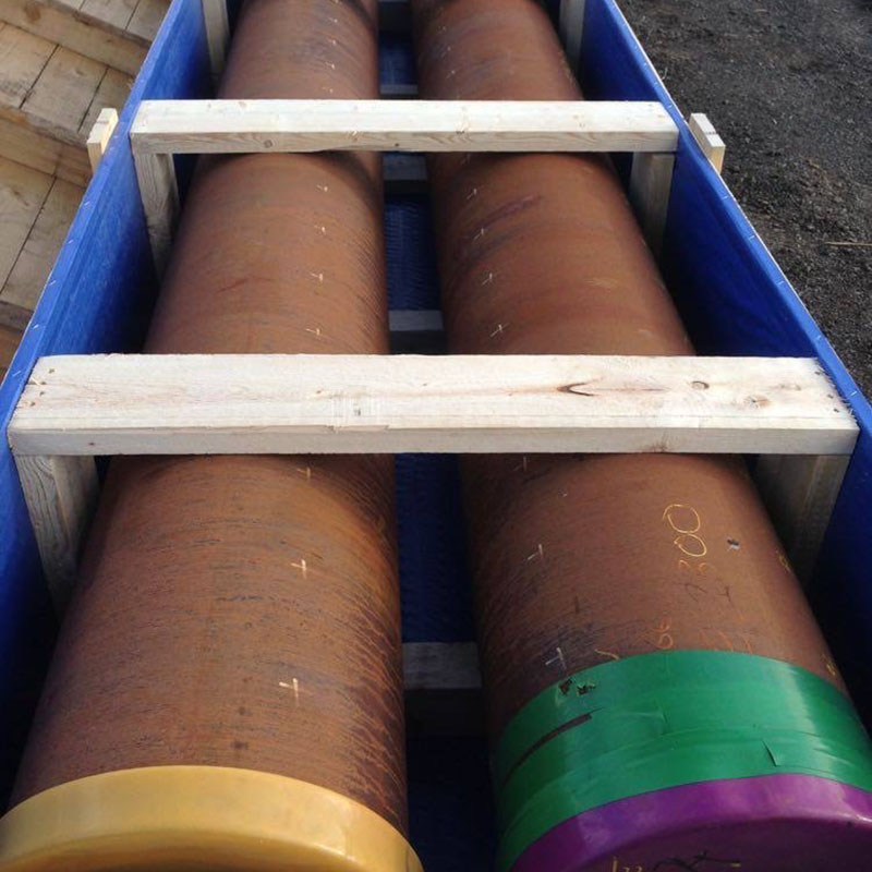 Timber Crates Pipes
